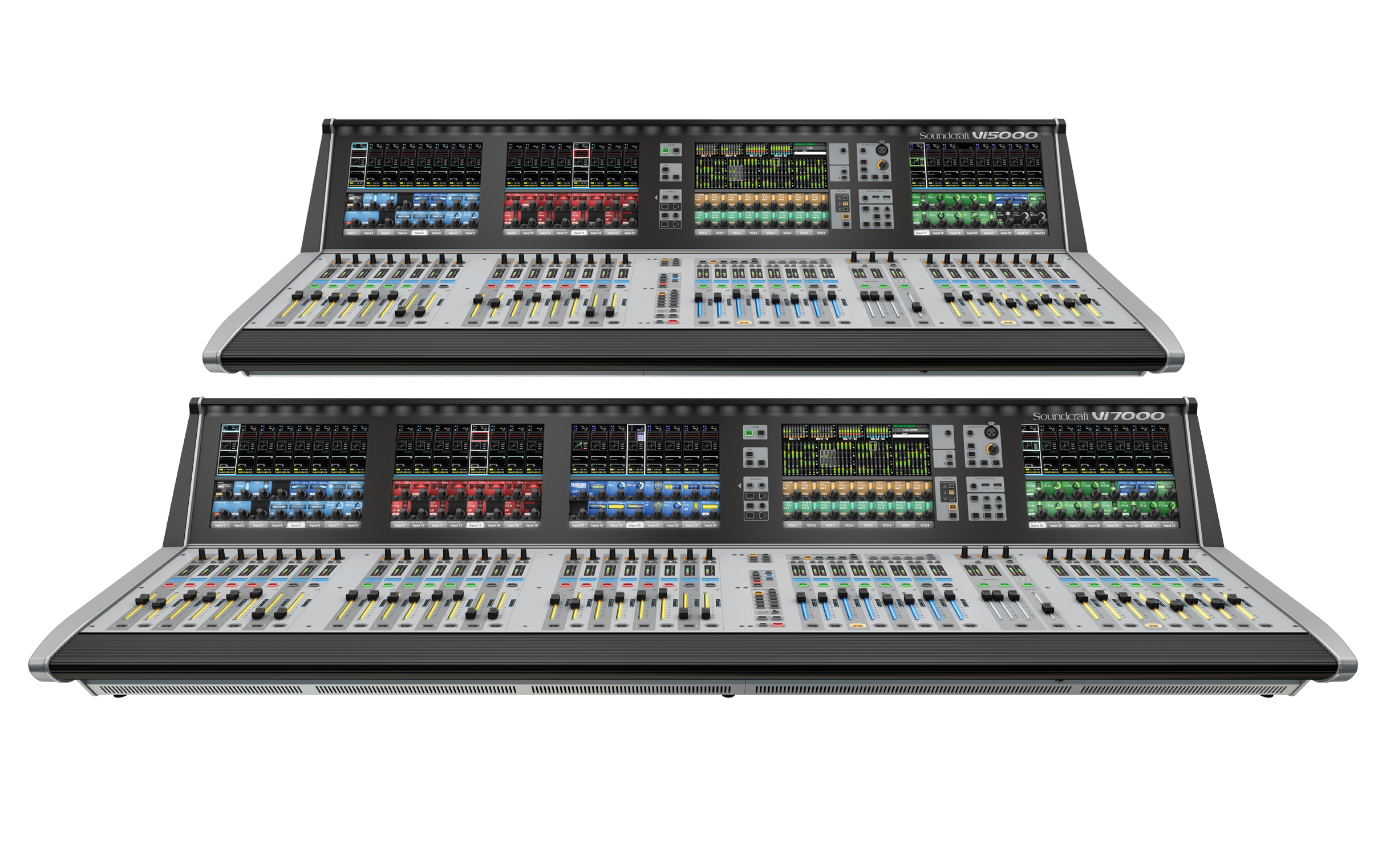 Soundcraft Extends Vi Series Digital Mixing Consoles with ...