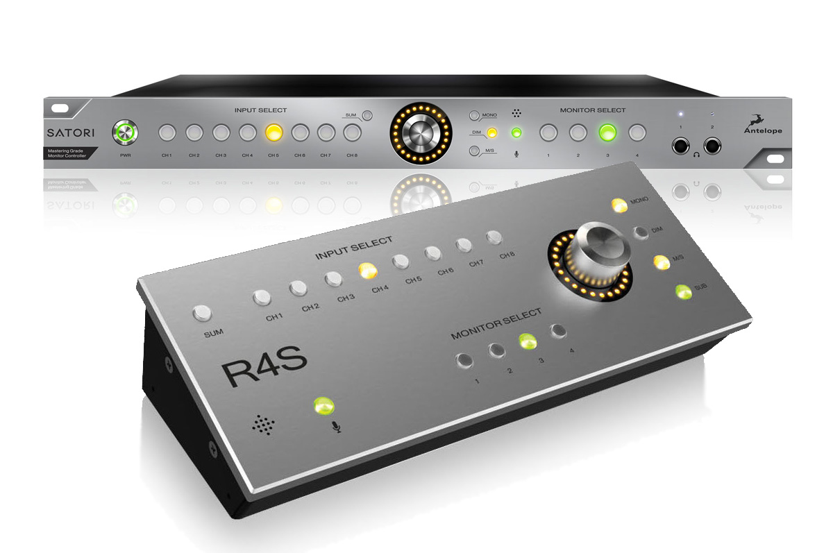 Antelope Audio Introduces R4s Remote Control For Satori