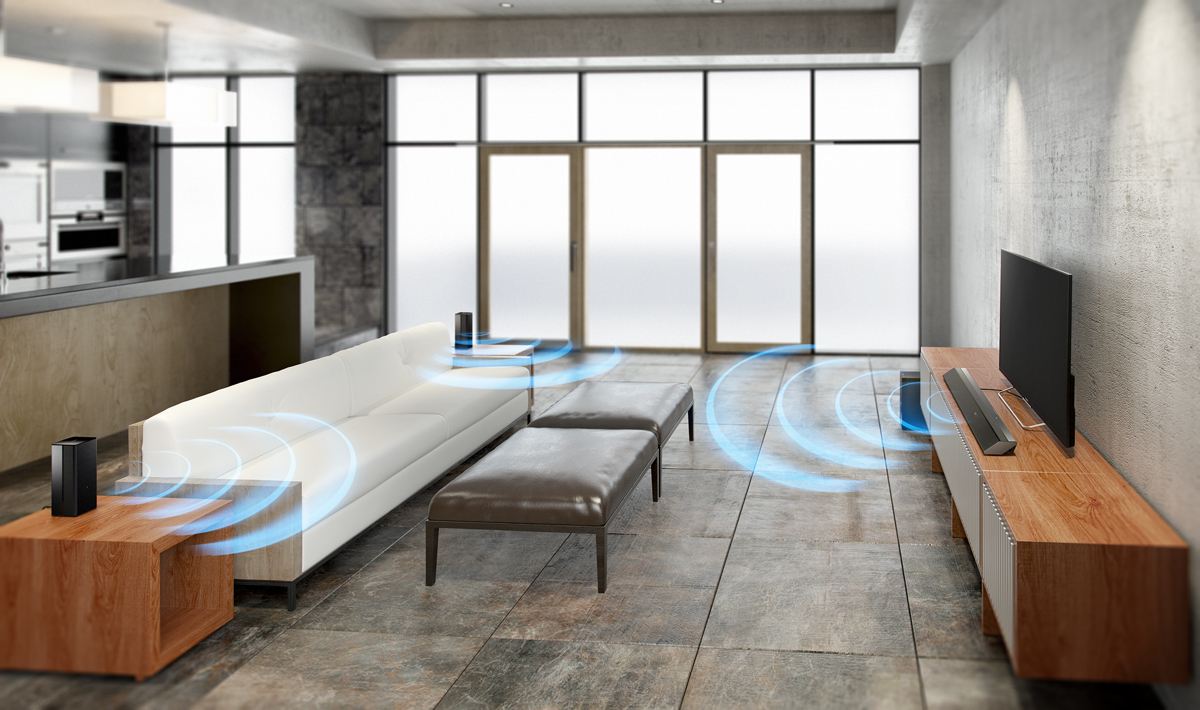 Wireless Surround Sound Made Simple From Sony Audioxpress