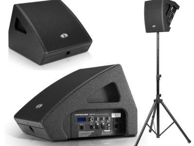 "Dynacord presents the AXM 12A 12""- coax powered monitor"