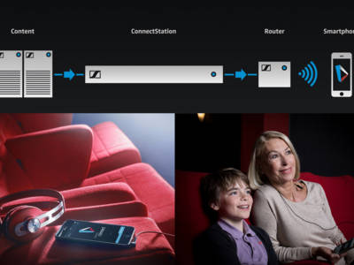 Sennheiser promotes streaming solution for assistive listening in cinemas