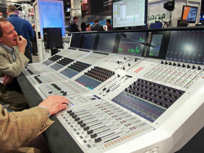 Studer new Infinity Series Processing Engine and Vista X Console
