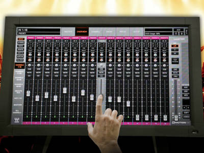 Crest Audio Redefines Mixing with the Tactus Digital Mixing System
