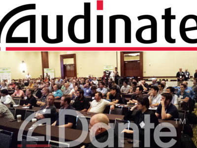 Audinate's AV Networking World Breaks Attendance Record for Las Vegas Conference