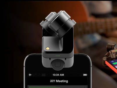 New Røde iXY Microphone for iPhone 5, iPhone 5s, and iPhone 5c