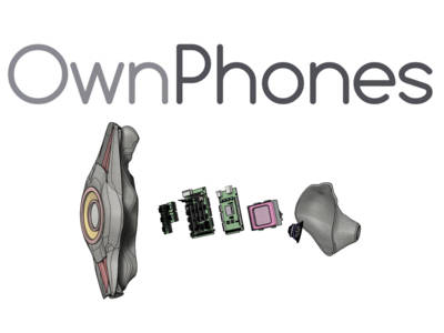 Wireless 3D Printed Custom-Fit Earbuds from OwnPhones