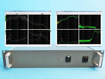 New K&K P750 QC Analyzer for loudspeaker, micro speakers and headphones testing