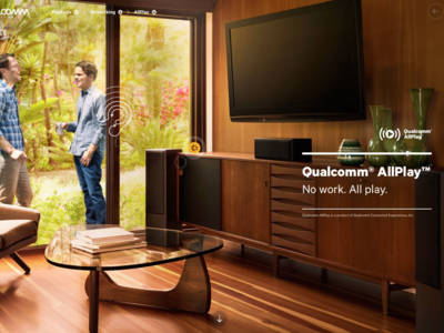 Qualcomm Expands AllPlay Streaming Audio with SDK Availability
