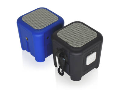NUU Riptide Bluetooth Speakers are Portable, Waterproof and… Wearable