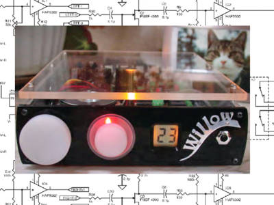 The Willow Pre-amp: A high slew-rate JFET amplifier