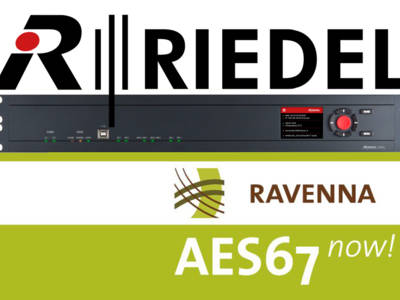 Riedel Joins RAVENNA and Accelerates Efforts to Provide AES67 Interoperability
