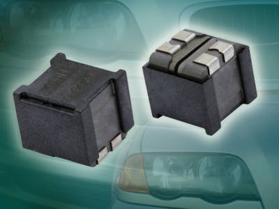 Vishay Intertechnology Dual Inductor Saves Space, Offers Industry-High Temperature Range for Class D Amplifiers