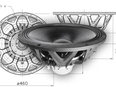 "New 18"" FaitalPro 18XL1800 Neodymium Super Woofer"