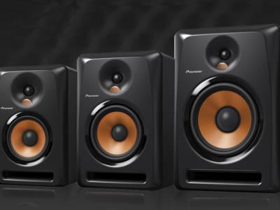 Pioneer Professional Audio Unveils New Bulit Series Studio Monitors