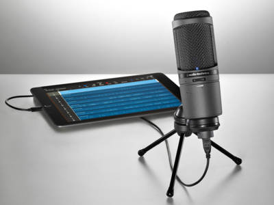 Audio-Technica Now Shipping AT2020USBi Cardioid Condenser USB Microphone