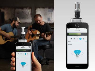 Shure Updates its ShurePlus MOTIV Mobile Recording App for iOS
