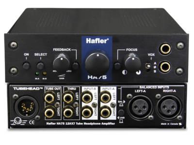 Hafler's HA75 Tube Head Headphone Amplifier Gets Recognition
