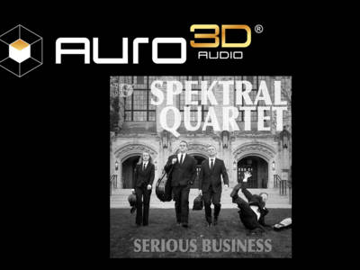 "Spektral Quartet's ""Serious Business"" Recorded in Auro-3D"