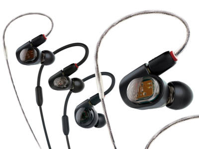 Audio-Technica Announces New Professional In-Ear Monitors (IEM)