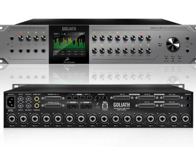 Antelope Audio Introduces Goliath Thunderbolt/USB Audio Interface