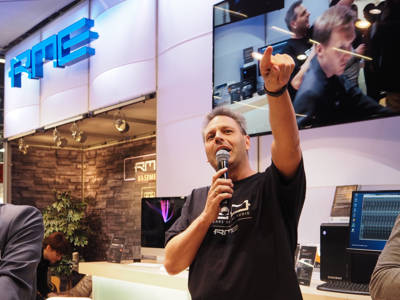 RME Celebrates 20 Years at Musikmesse 2016 and Introduces First Thunderbolt Audio Interface