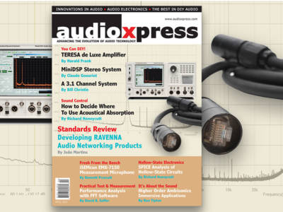 Designing Audio Products for Work or Fun? Don't Miss audioXpress April 2016. Now Available!