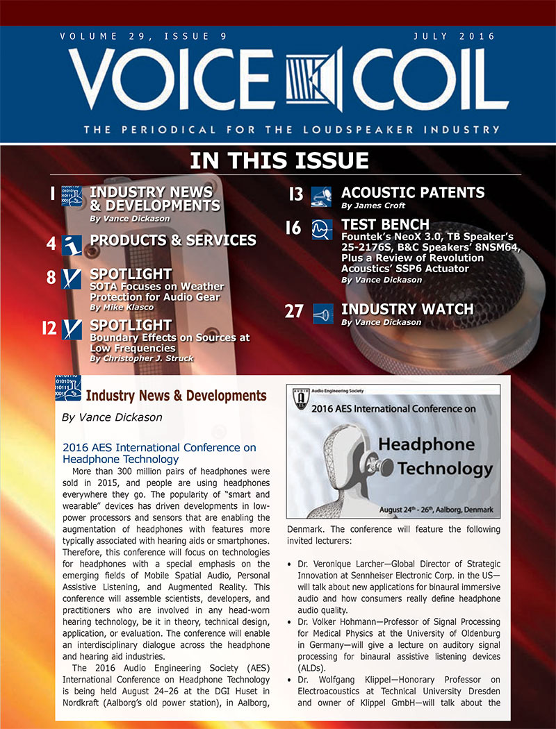 Voice Coil July 2016