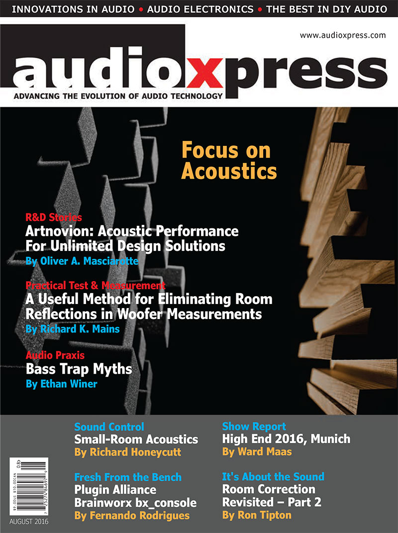 audioXpress August 2016