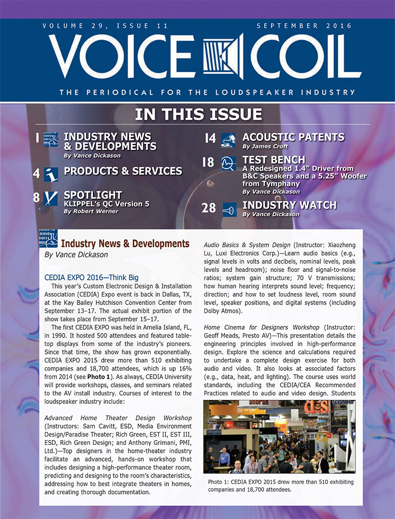 Voice Coil October 2016