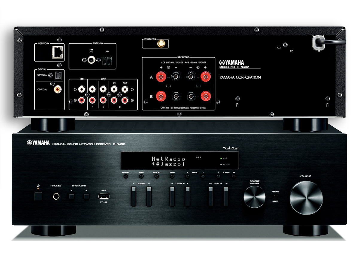 Yamaha introduces r n402 receiver and musiccast wireless for Multi zone receiver yamaha