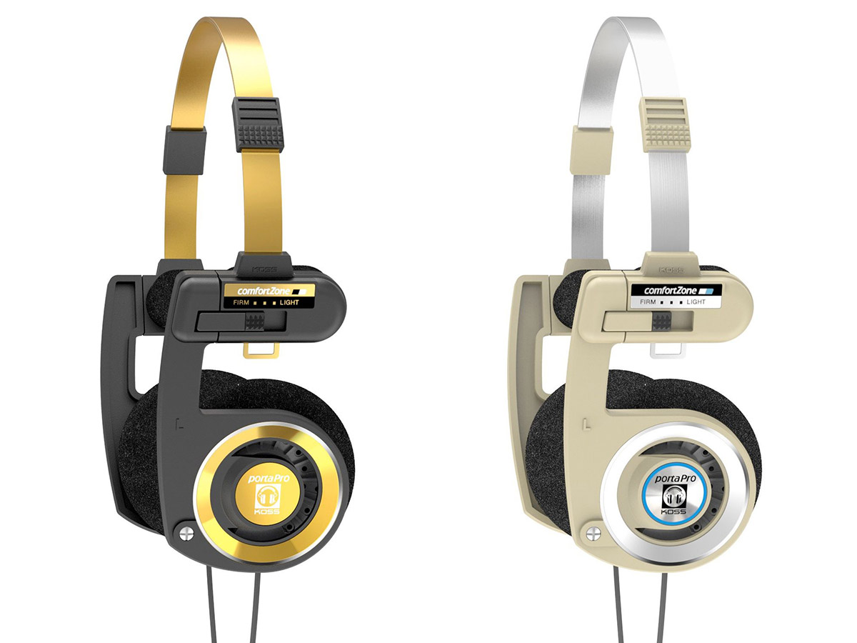 Koss launches porta pro limited edition in two new colorways - Koss porta pro ...