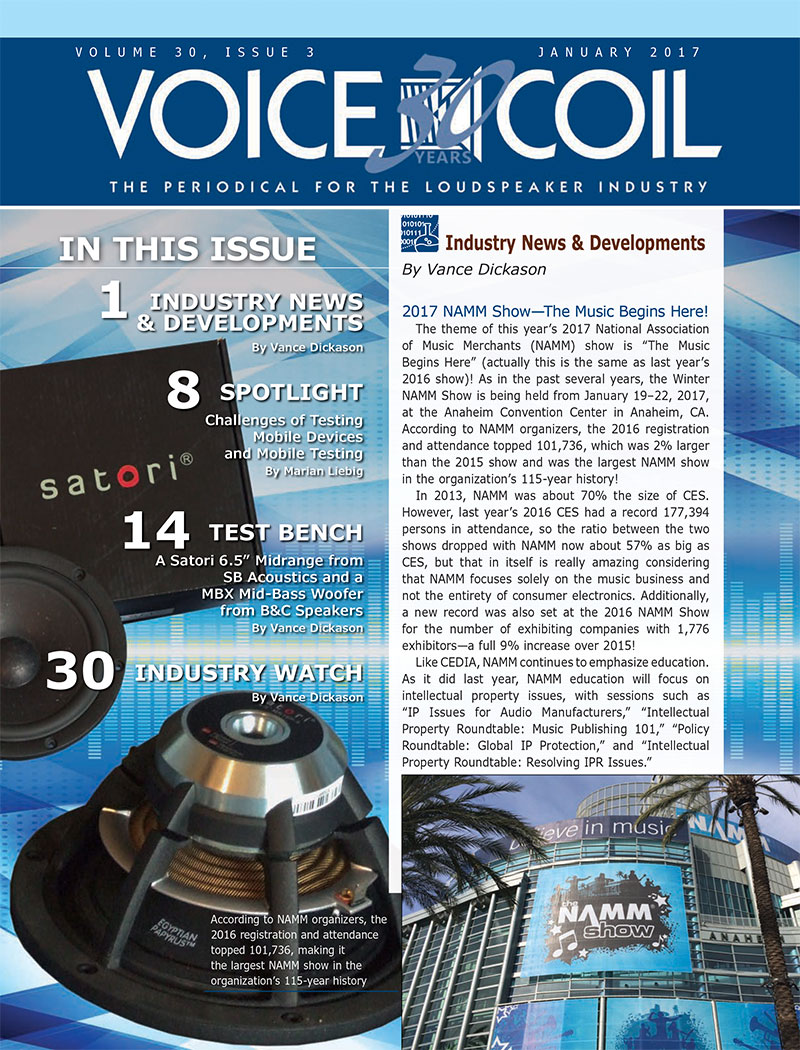 Voice Coil January 2017