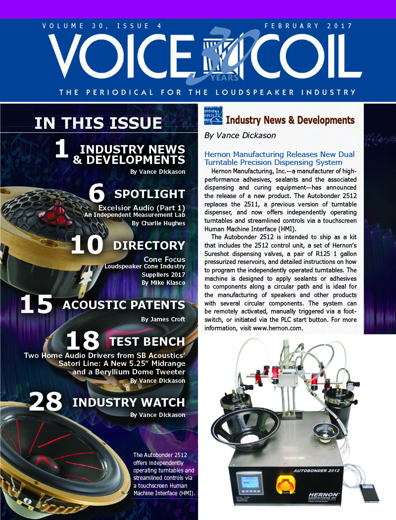 Voice Coil February 2017