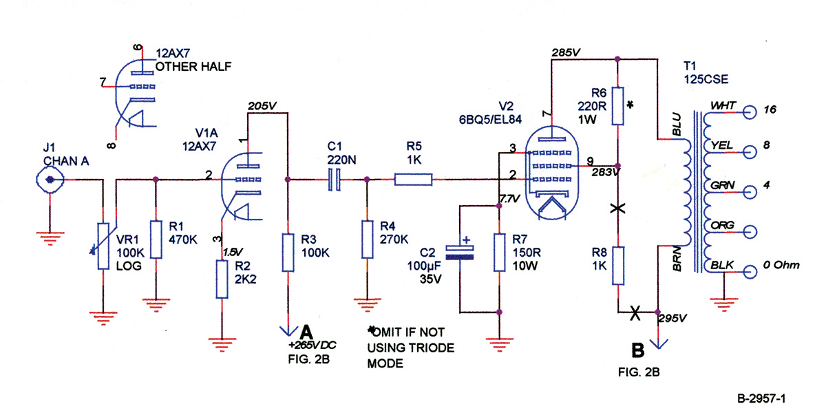 A Beginner 6bq5 Se Amp