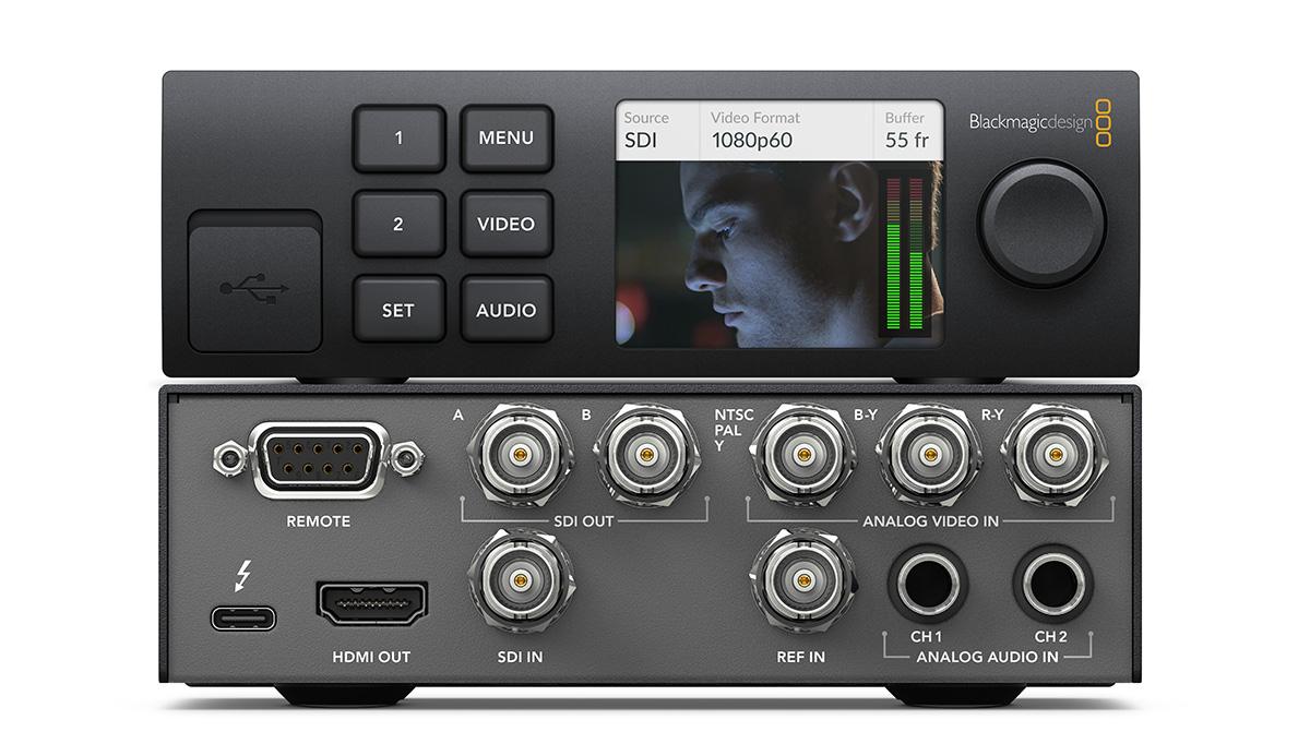 Blackmagic Design Ultrastudio Hd Mini Portable Thunderbolt 3 Interface Audioxpress