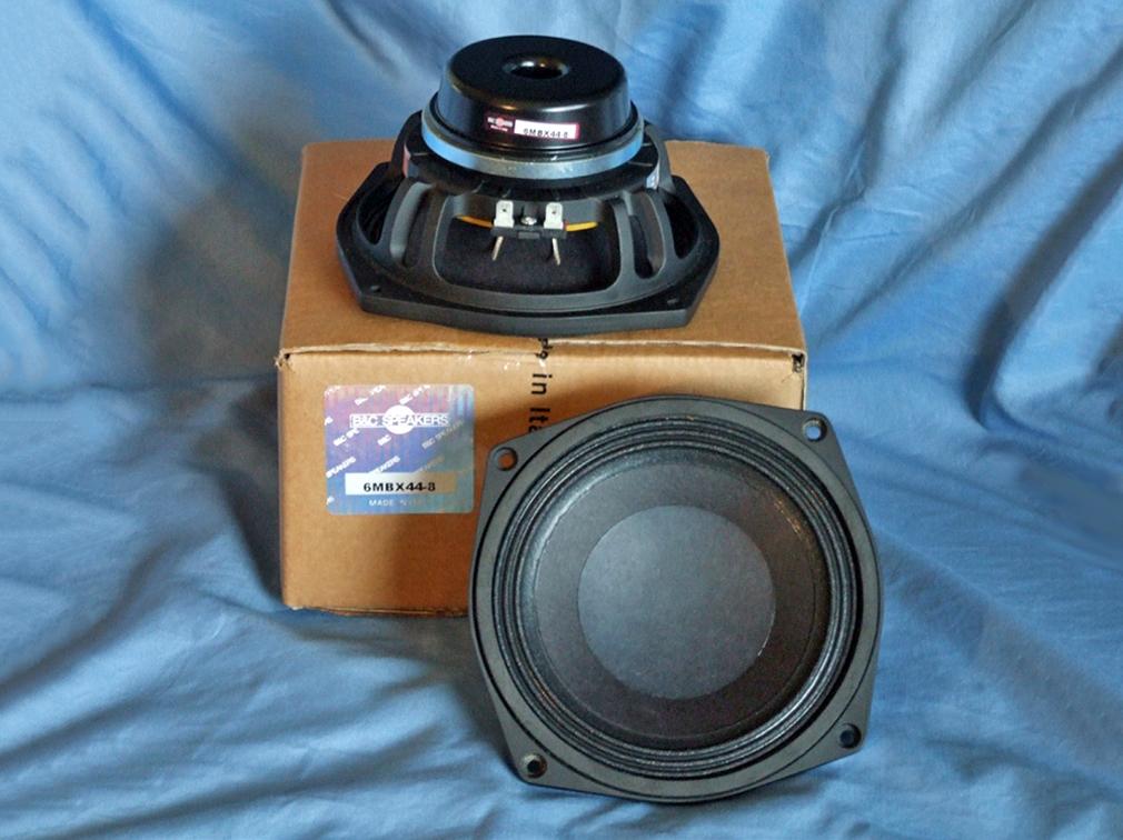 B C Speakers 6mbx44 Mbx Mid Bass Woofer Audioxpress
