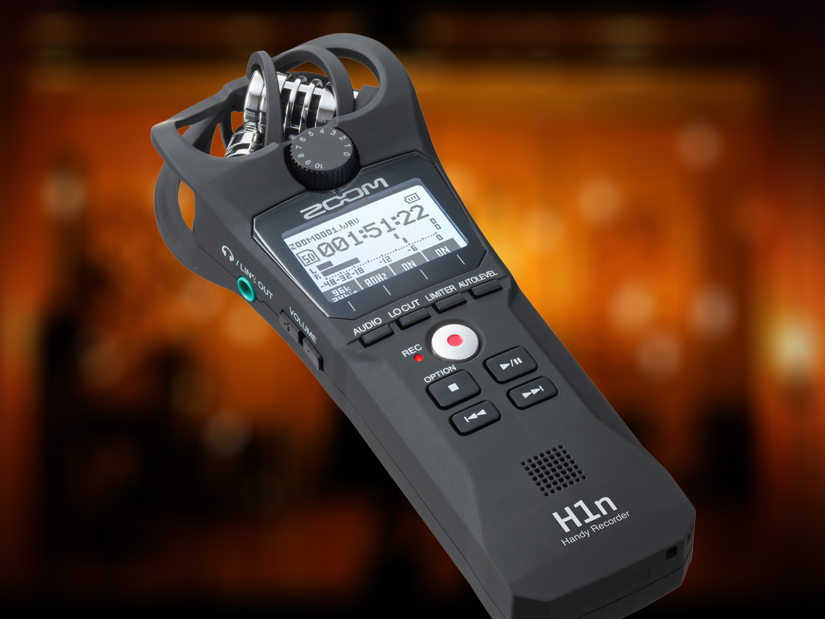 Zoom Launches Full Featured H1n Handy Recorder With Analog Style