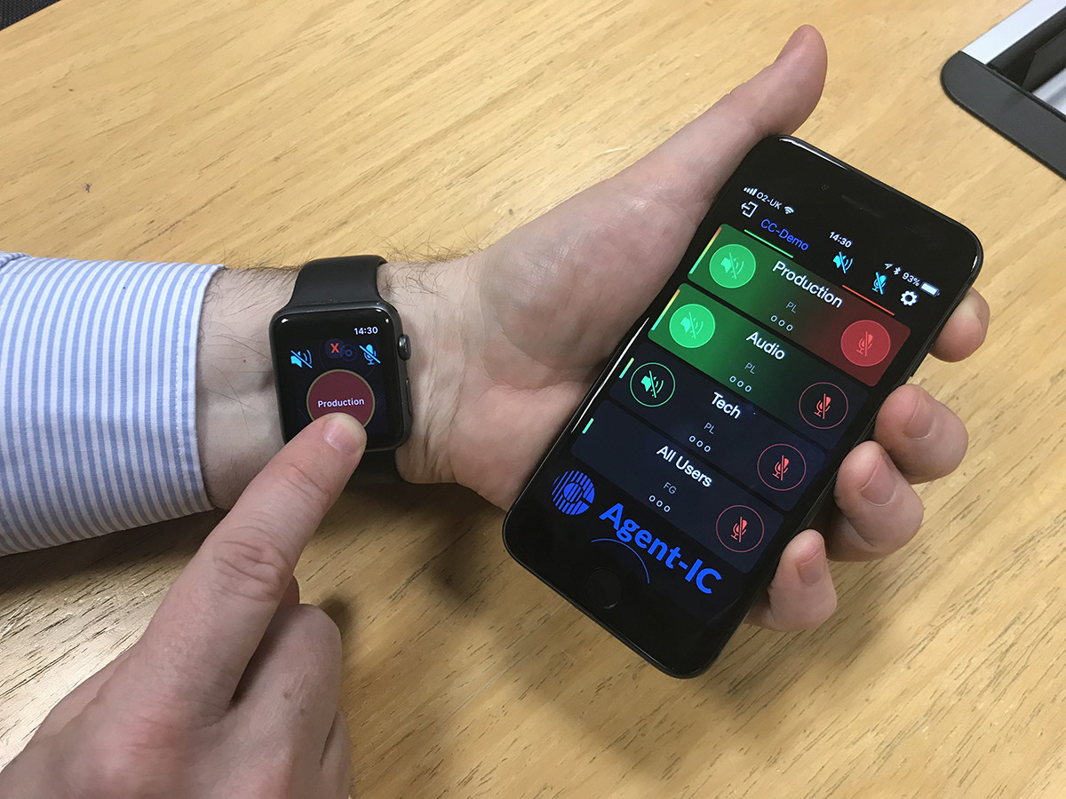 Clear Com Introduces Agent Ic Intercom App With Support For Apple Watch Audioxpress