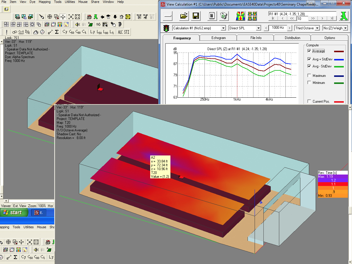 Predictive Acoustics And Acoustical Modeling Software Ease Audioxpress