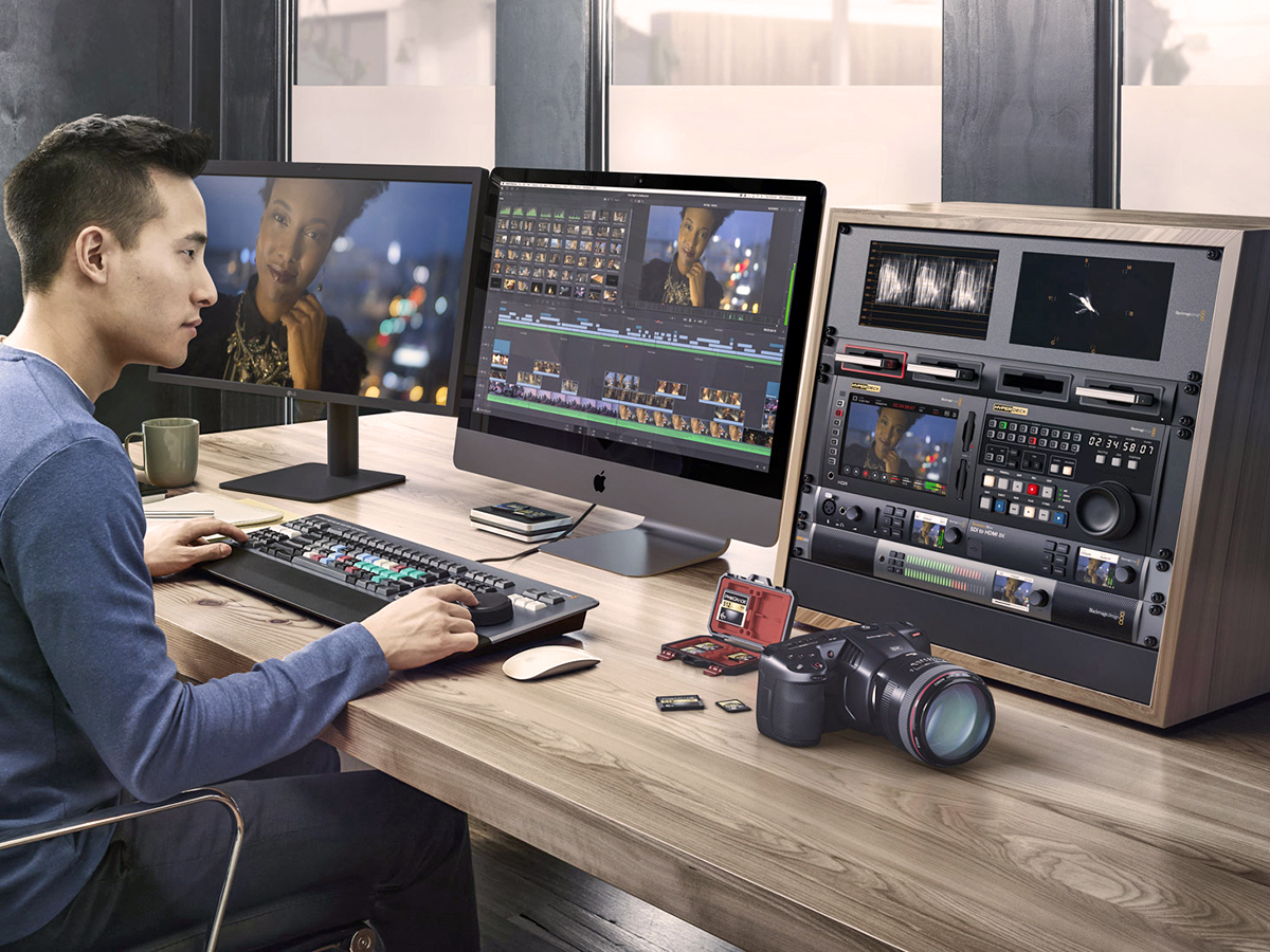 Blackmagic Design Announces Final Release Of Davinci Resolve 16 And Availability Of Version 16 1 Beta Audioxpress