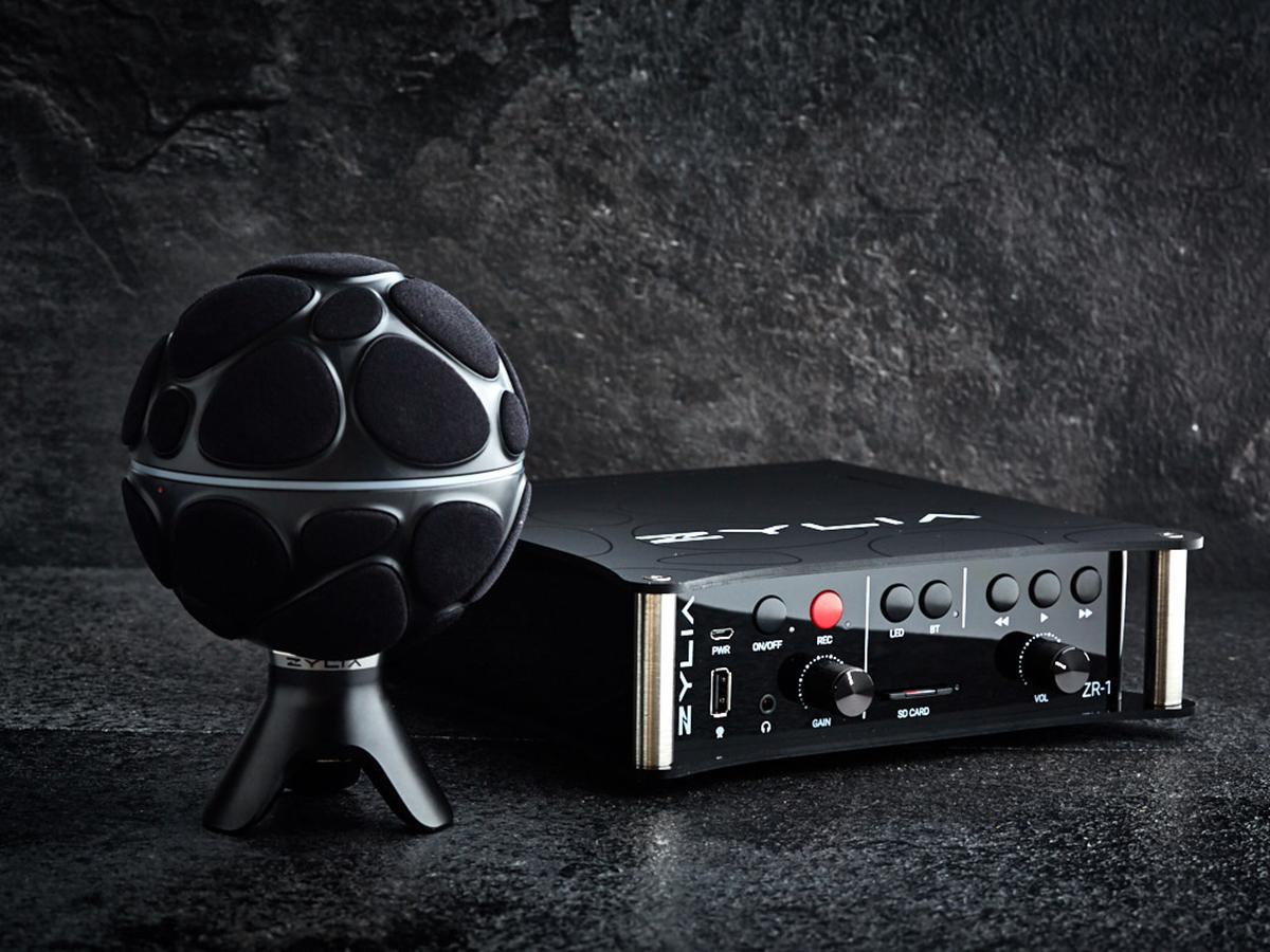 Ambisonics zylia introduces zr-1 ambisonics recorder and 6dof vr/ar