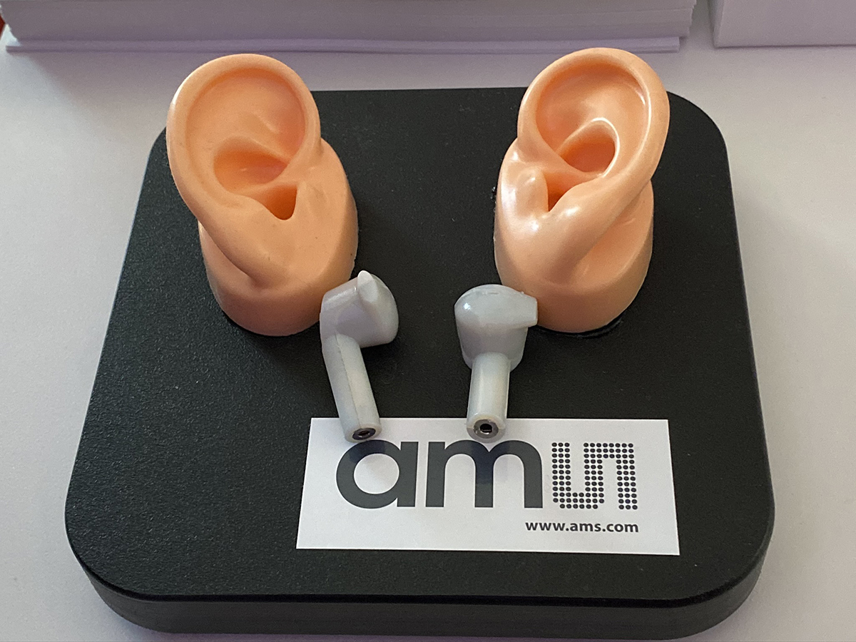 Selective Noise Cancellation With Ams As3460 Digital Augmented Hearing Chip For True Wireless Earbuds Demonstrated At Ces 2020 Audioxpress