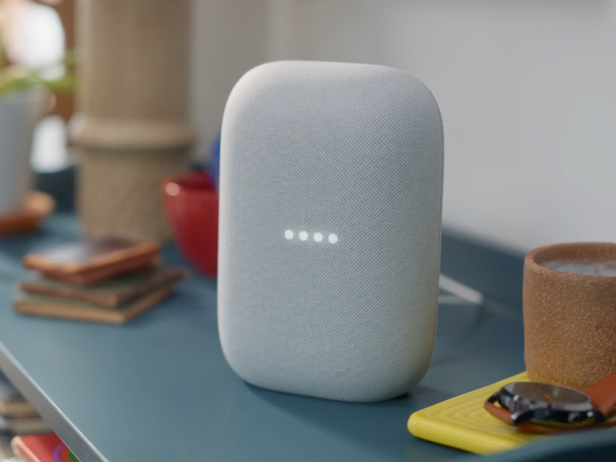design Google Nest Audio