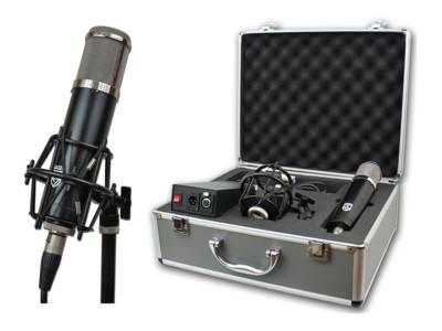 """Lauten Audio Introduces """"Series Black"""" Vacuum Tube Condenser Microphone"""