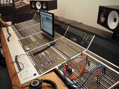 Audient Introduces ASP8024 Heritage Edition Studio Mixer at Musikmesse 2016