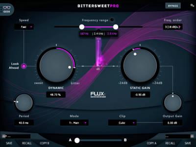 Flux BitterSweet Pro v3 Frequency Dependent Transient Designer