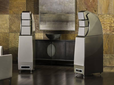 Wilson Audio New Alexx Speakers Playing at T.H.E. Show
