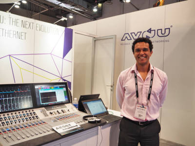 AVB/TSN Momentum and AES67/AVB Harmony at InfoComm 2016