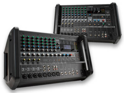 Yamaha Launches EMX5 and EMX7 Portable Powered Mixers