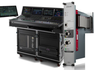 Avid Announces new 5.2 Software for its Venue S6L Live Sound Mixer and New Dante Option Card
